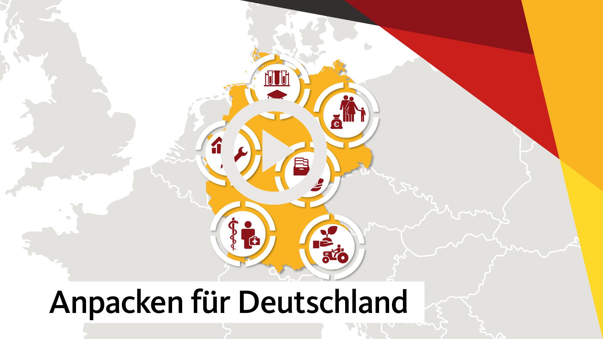 """Video """"Anpacken für Deutschland"""""""
