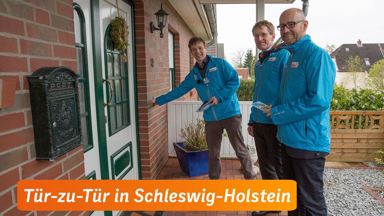 Tür-zu-Tür in Schleswig-Holstein