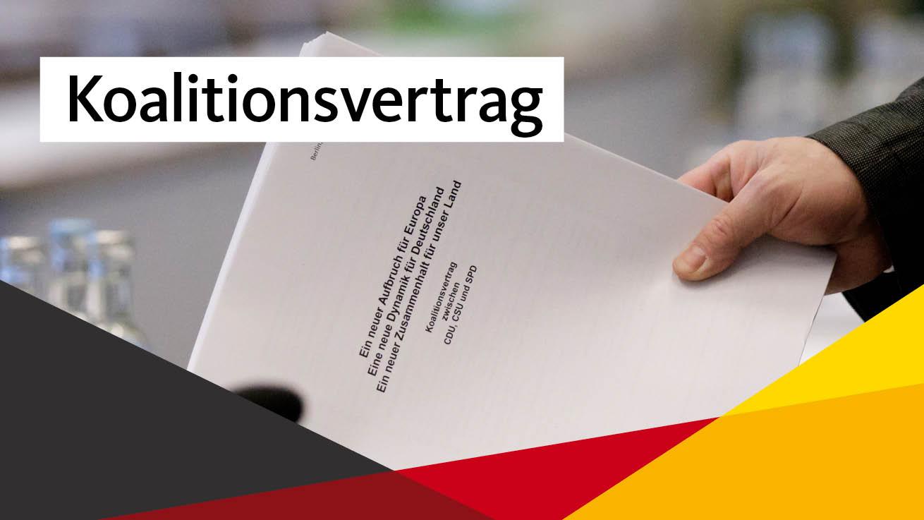 Koalitionsvertrag trägt deutliche Handschrift der CDU
