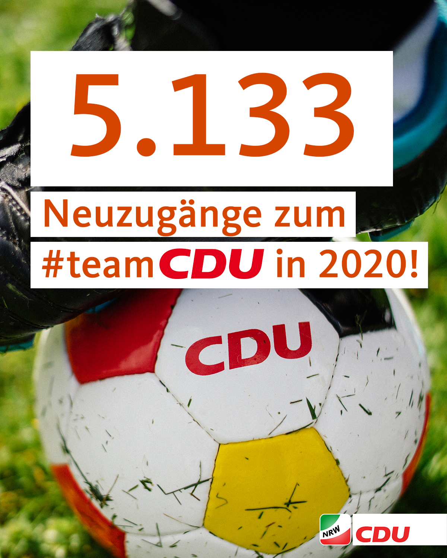 5133 Neuzugänge zum #teamCDU